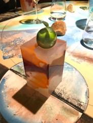 Sarda in saor - Su parallelepipedo in silicone