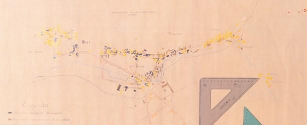 Progetto di massima del Piano Regolatore di Mori Borgata | 1920