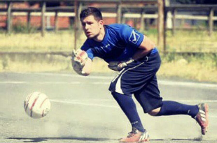 """Calcio 1a Categoria girone C. La """"schedina"""" di Andrea Matzuzi numero 1 del Samugheo"""