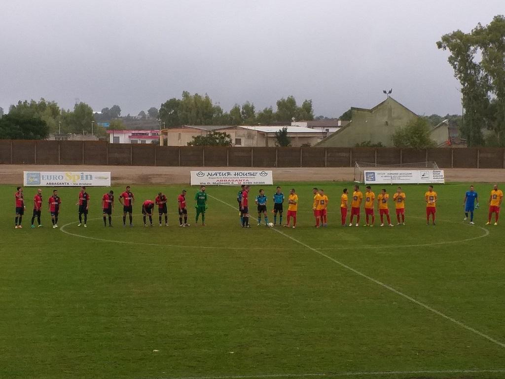 Calcio Eccellenza. 90° fatale al Ghilarza: il Taloro pareggia l'eurogol di Manca