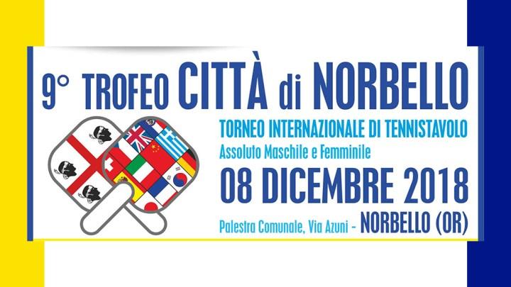 """9° Trofeo """"Città di Norbello"""" – 08 dicembre 2018"""