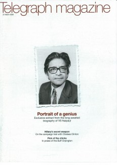 2008 -Telegraph magazine (PDF link)