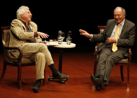Ken Livingstone at the Yvonne Arnaud Theatre, Guildford