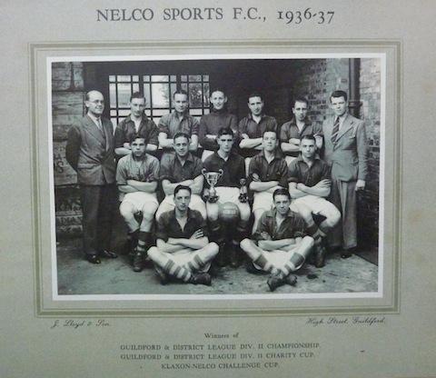Nelco's football team 193