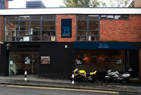 How Britten's restaurant will look once the refit is complete.