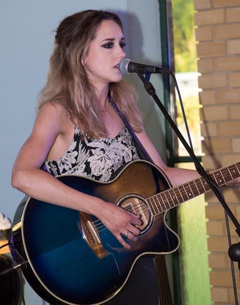 Singer-songwriter Hannah Dorman.
