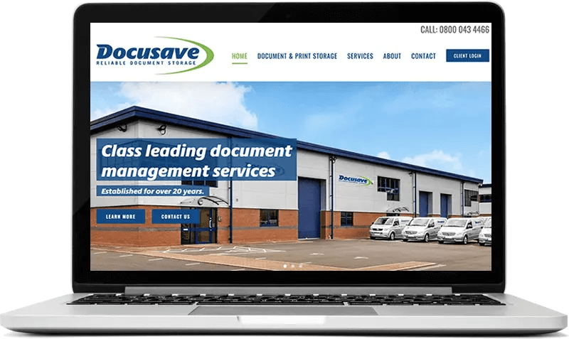 Docusave Guildford Website