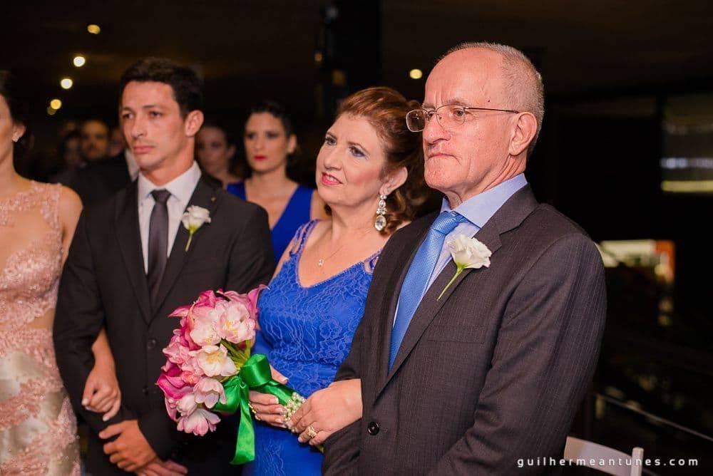 Fotografia de Casamento Luana e Alysson pais da noiva