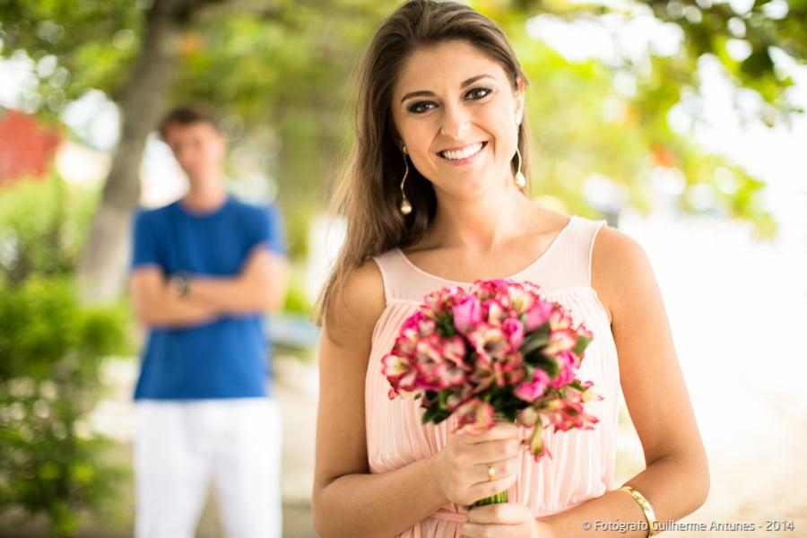 Fotógrafo dá dicas e ideias para ensaio pré-wedding (Buquê)