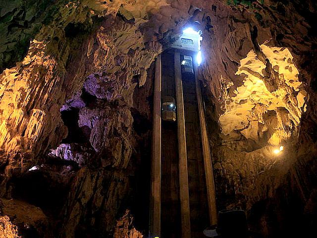 Image result for cave elevator