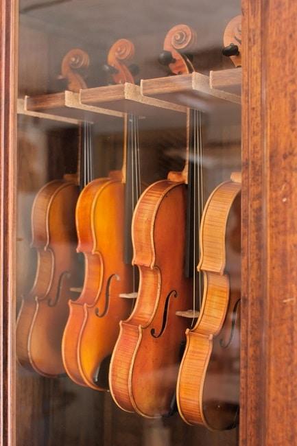 Les violons en avril 2015