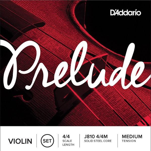 Cordes d'étude D'Addario Prelude pour violon