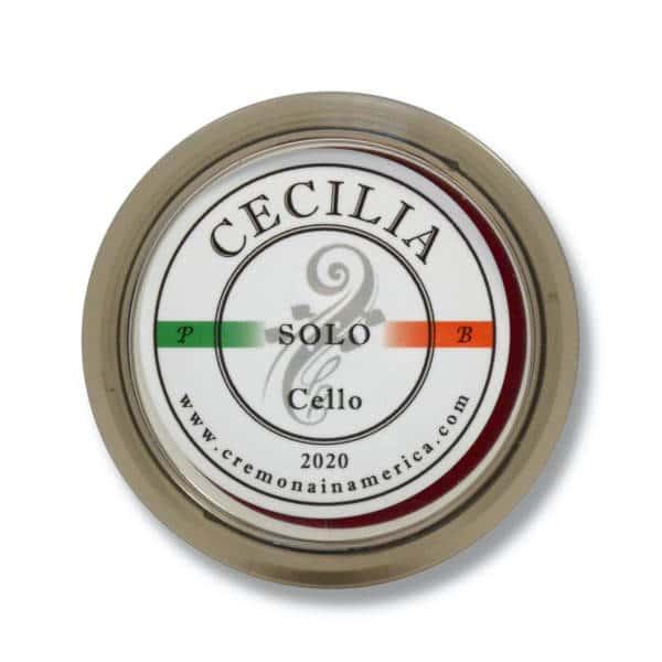 Logo de la colophane Cecilia Solo pour violoncelle