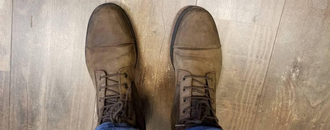 Les chaussures du luthier