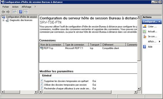 Ppe1 installation et configuration du vpn et tse - Connexion bureau a distance windows ...