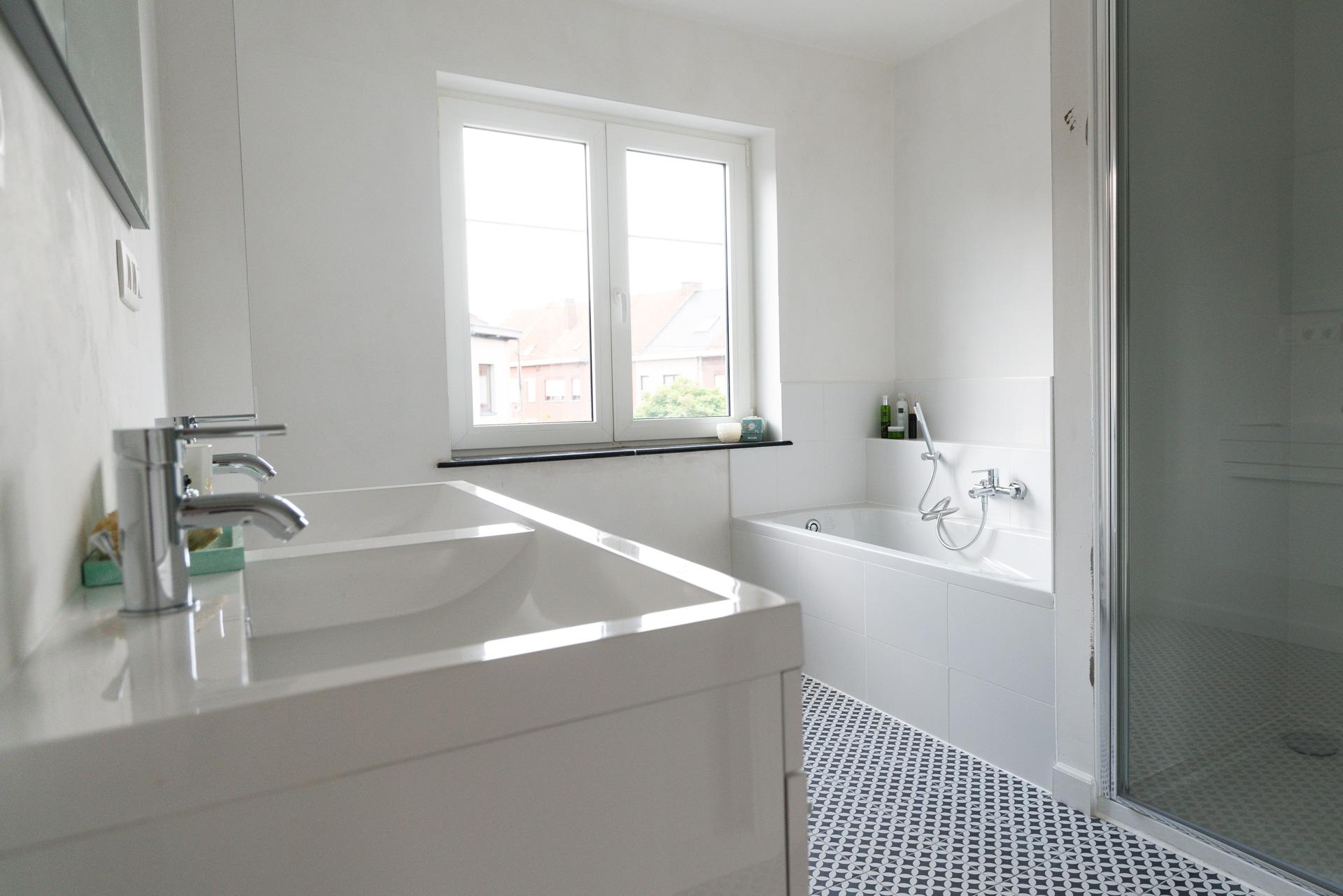 badkamer in een huis vastgoed
