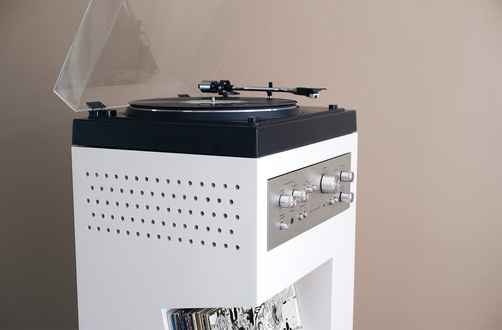 Turntable Display Cabinet