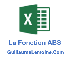 Fonction Excel ABS