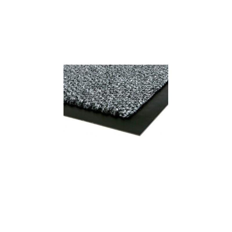 tapis d entree de proprete absorbant ids cahors gris de 90 x 150