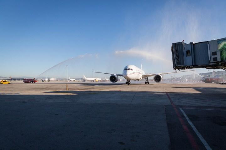Inauguración de nueva ruta aérea de Royal Air Marroc