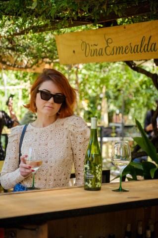 Fotografías del stand de Viña Esmeralda @ Palo Market Barcelona