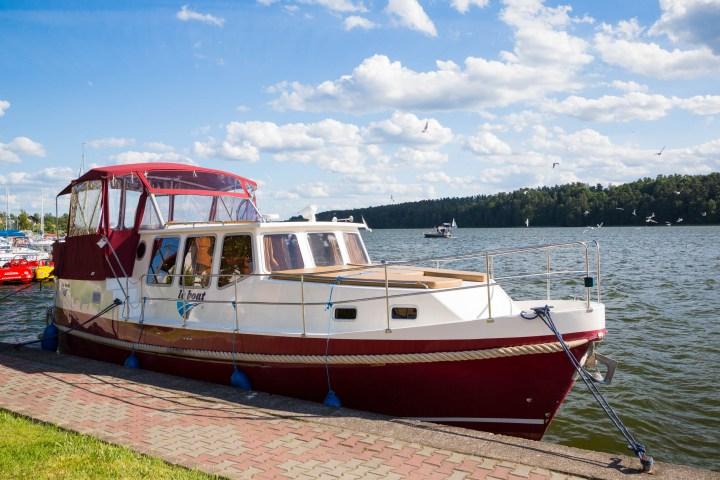 Reportaje fotográfico para Le Boat en Polonia