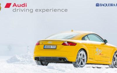 Fotografiant l'Audi Driving Experience del FC Barcelona a Baqueira