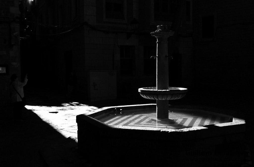 Barcelona en blanco y negro