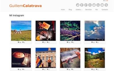 Mostrando mi Instagram en WordPress