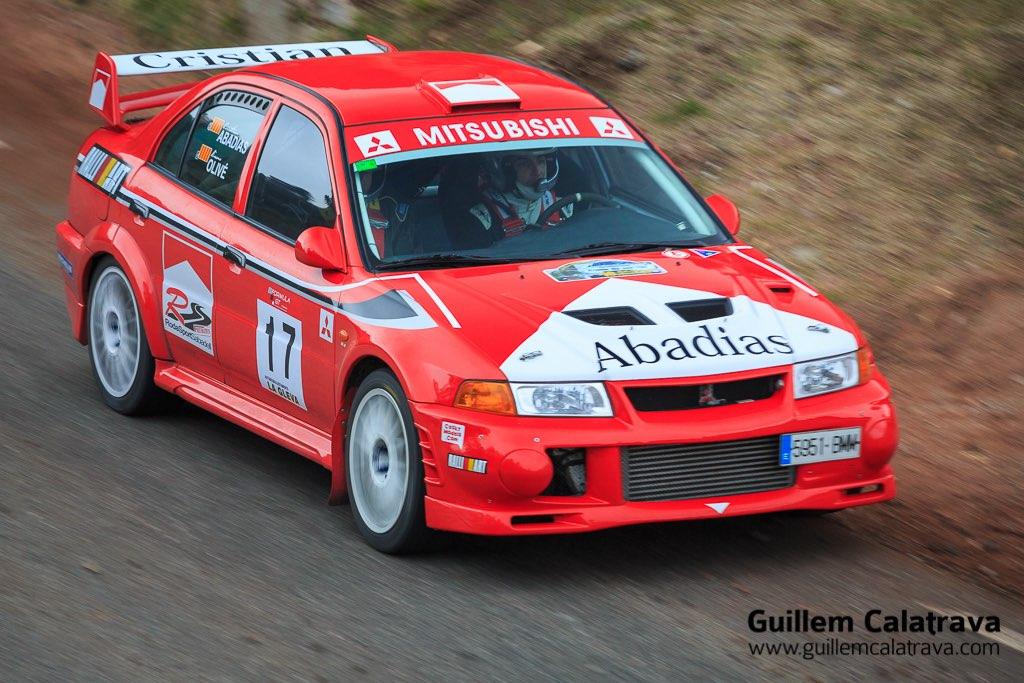 Shakedown del 18è Rally Esprint Sant Julià 2015