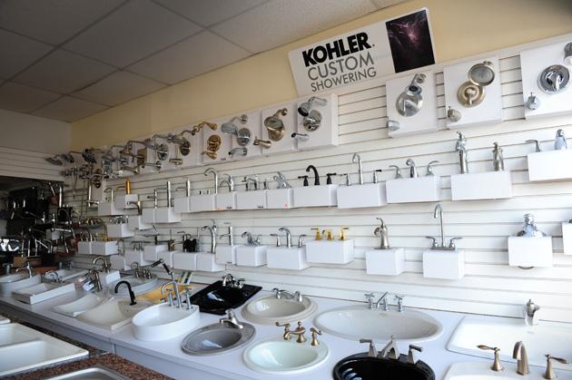 guillen s plumbing showroom