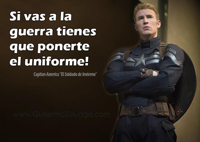 El Capitán América Un Ejemplo A Seguir Guillermo Zuluaga