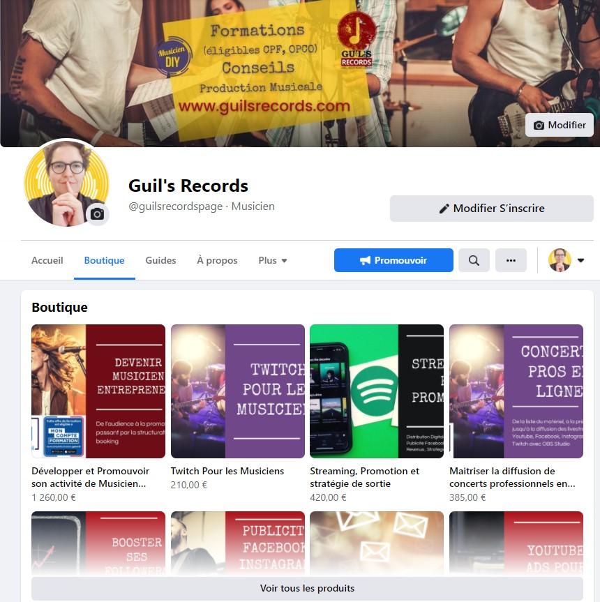 boutique guils records