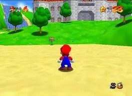 Super Mario 64 gameplay