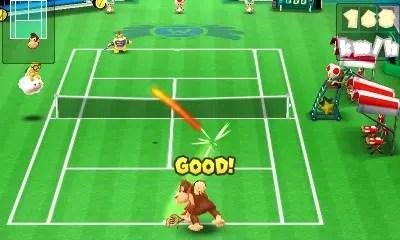 mario tennis open screen
