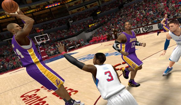 NBA 2K14 gameplay