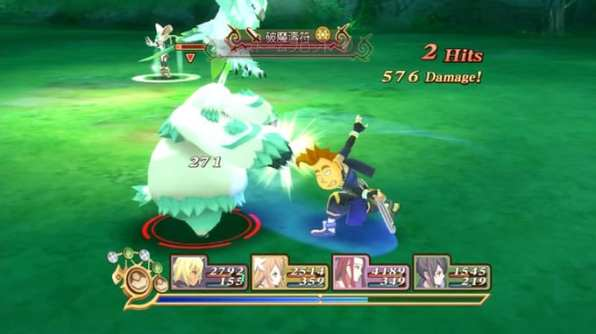 tales of symphonia chronicles 10 aniversario gameplay 10