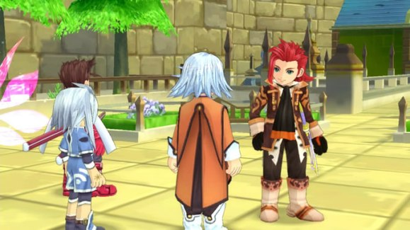 tales of symphonia chronicles 10 aniversario gameplay 3