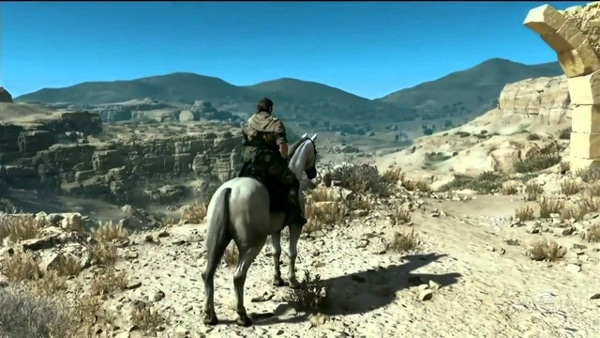 Metal Gear Solid 5 caballo