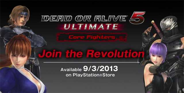 dead or alive core fighters