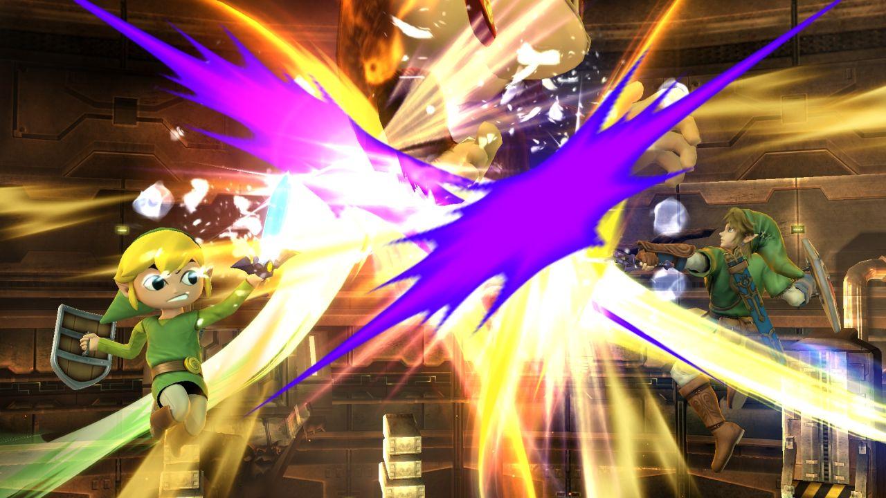 Super Smash Bros Toon Link Link