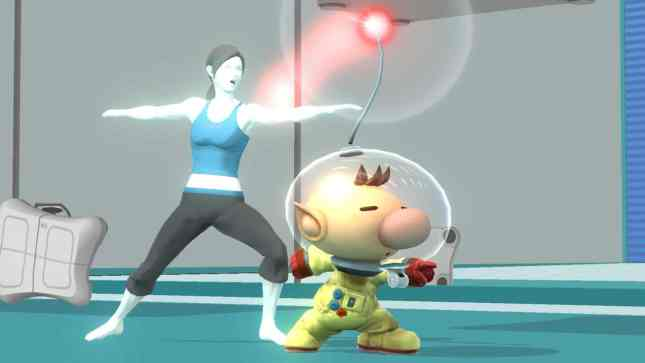 Super Smash Bros Wii Fit Trainer Olimar