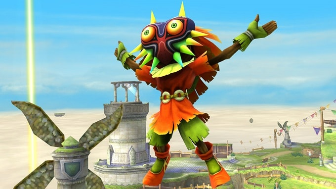 Super Smash. Bros Skull Kid