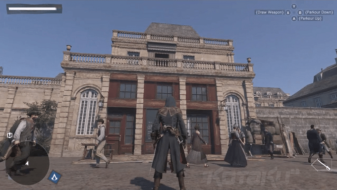 Assassin's Creed Unity gameplay (1)