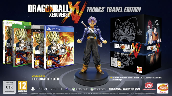 dragon ball xenoverse trunk's travel edition