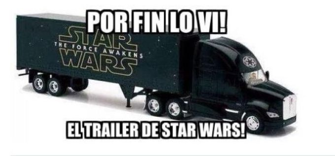 Star Wars trailer lo vi
