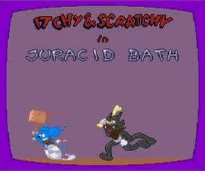 The Itchy and Scratchy Game