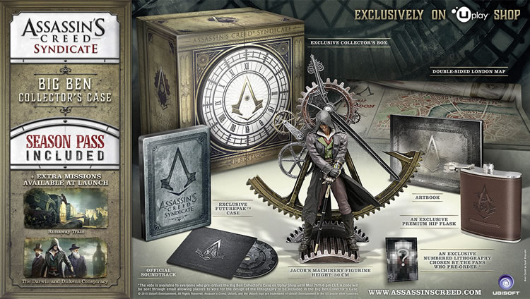 assassin's creed syndicate big ben collectiors edition