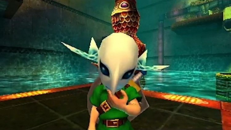 The Legend of Zelda Majoras Mask 3D Link 2
