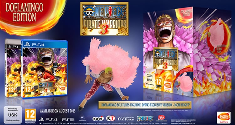 one piece pirate warriors doflamingo